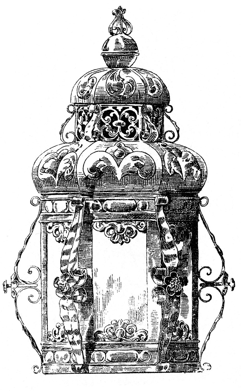 Lantern clipart candle lantern Holders Fairy Gothic The Clip