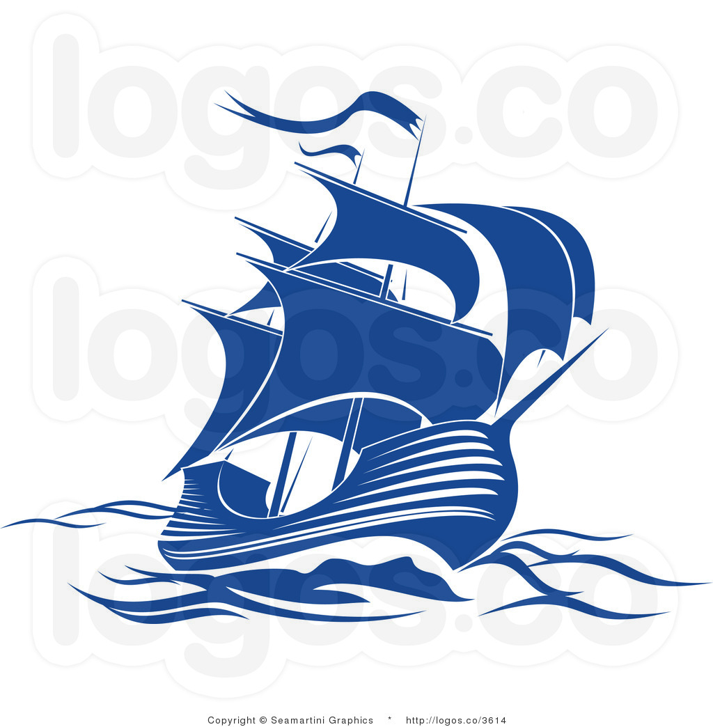 Engraving clipart logo · Clipart ship Sailing LogoEngraving