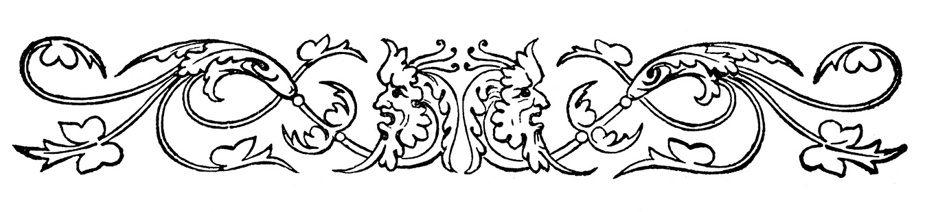 Engraving clipart ornament A Ornaments & Art Graphics