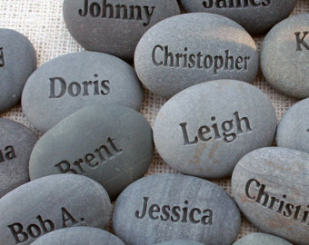 Engraving clipart rock stone Personalized event reunion Rocks family