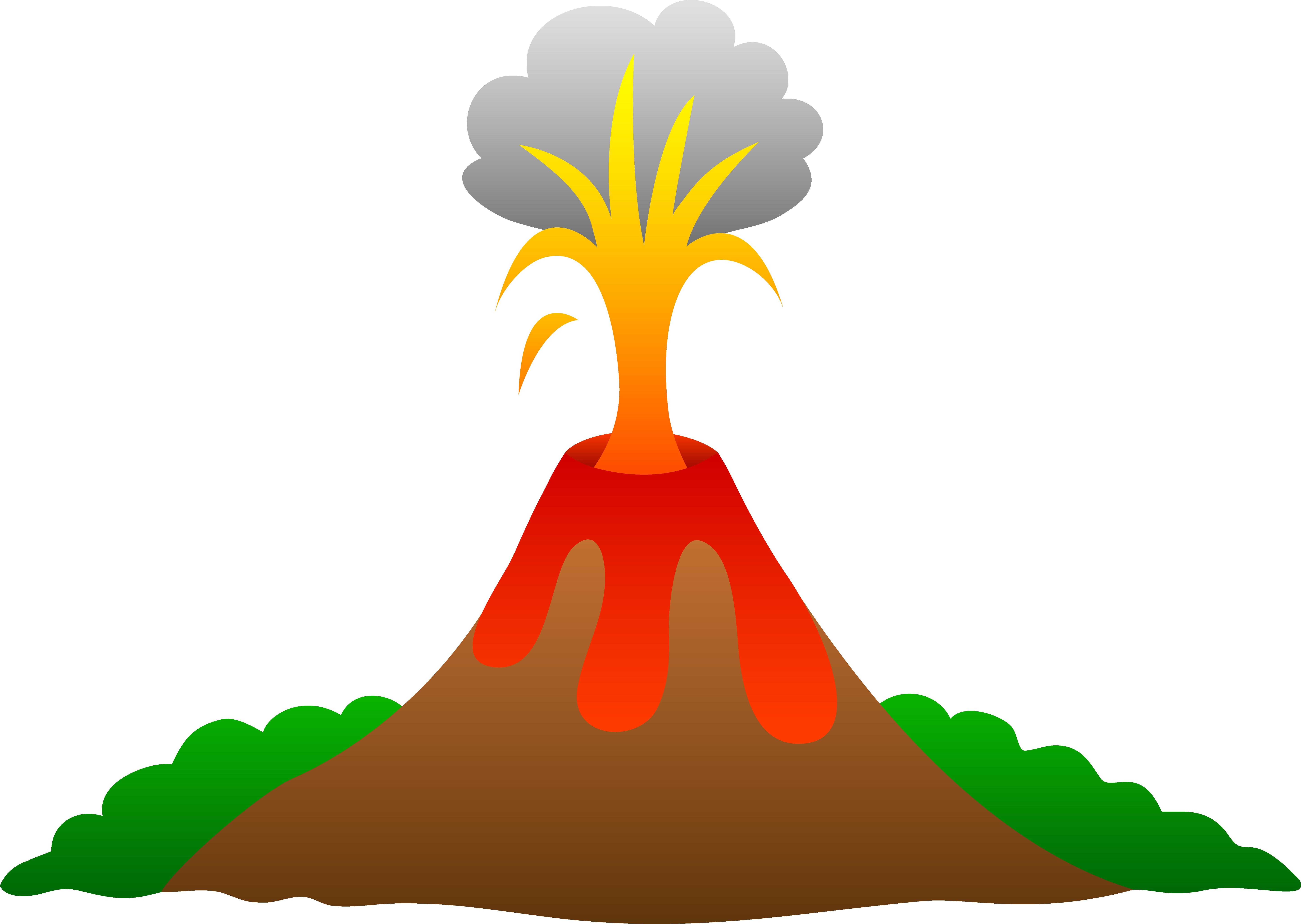 Eruption clipart #15