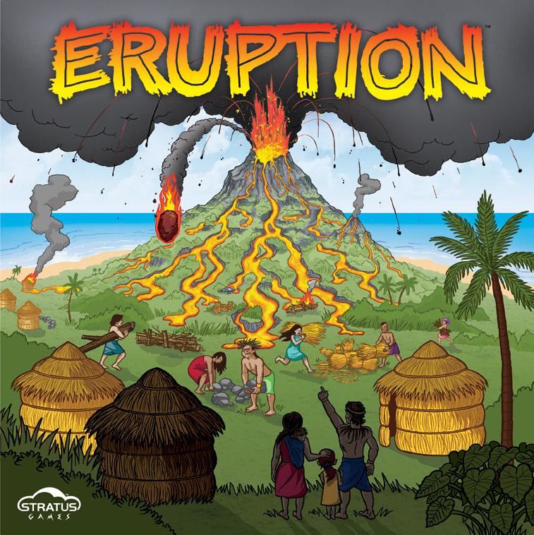 Eruption clipart #12