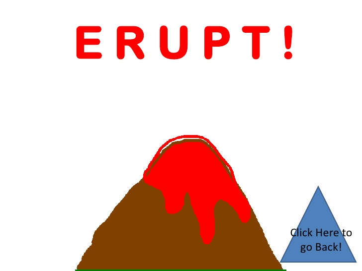 Eruption clipart animated Volcano Back! go Animation to