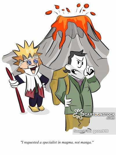 Eruption clipart magma Funny Comics from of 9