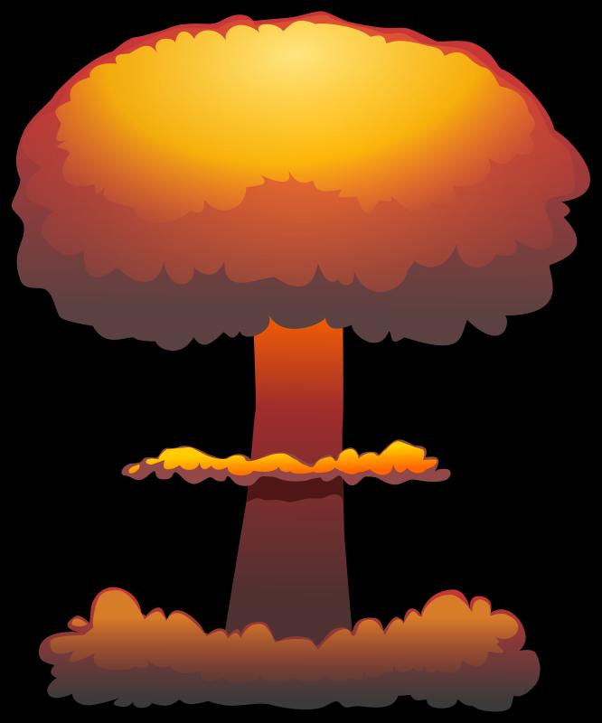 Eruption clipart mushroom cloud Art Pie cloud art Mushroom