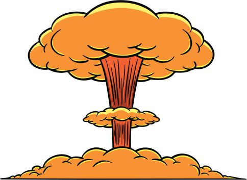Eruption clipart mushroom cloud 25+ cloud pixels id177050190 mushroom