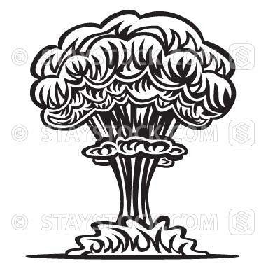 Eruption clipart mushroom cloud Pinterest ideas Mushroom  Best