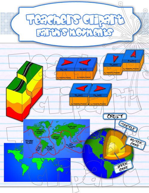 Lava clipart plate tectonic Plate Tectonics on more images