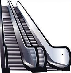 Mall clipart cute Free Escalator Clipart Escalator