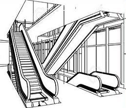 Escalator clipart Escalator Free Clipart Escalator