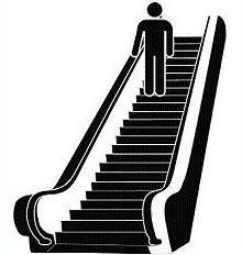 Escalator clipart Free graphic Clipart Escalator Escalator