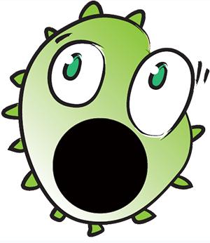 Escherichia Coli clipart cartoon Five coli interesting E facts