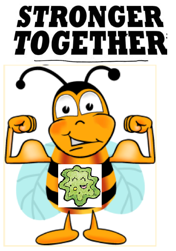 Escherichia Coli clipart happy Bees coli! Gut help bacteria