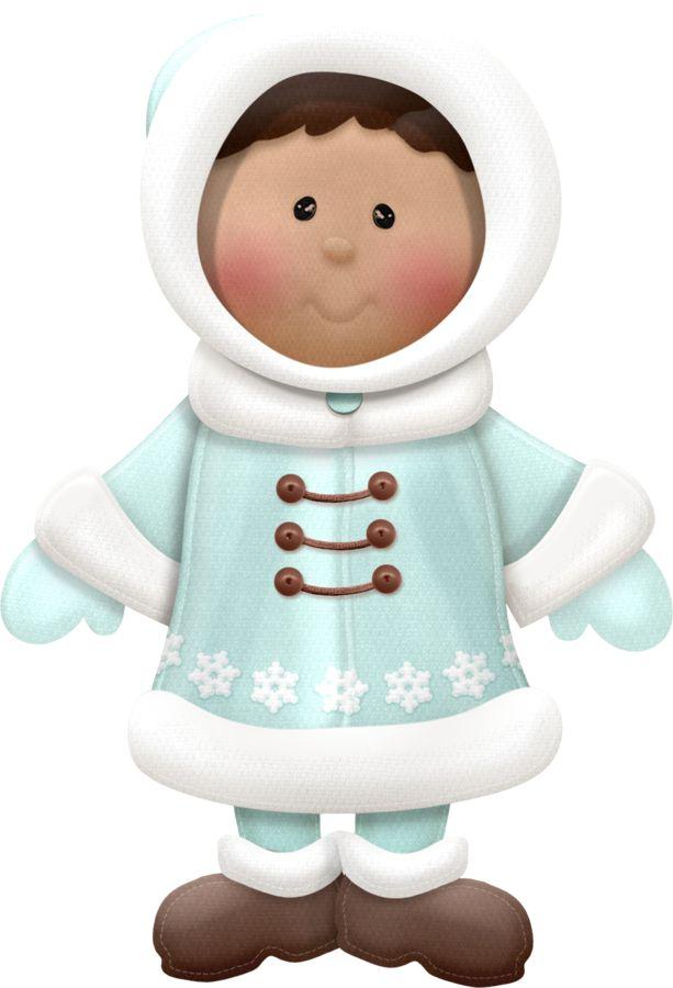 Coat clipart eskimo Images on eskimo WINTER Pinterest