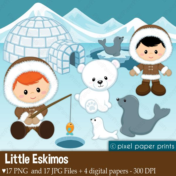 Eskimo clipart happy Eskimos Little 80 about clipart