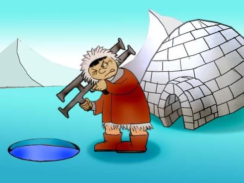 Eskimo clipart angry Eskimo olgun TOONPOOL berk Media