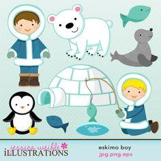 Eskimo clipart arctic Graphics Boy Boy eskimo clipart
