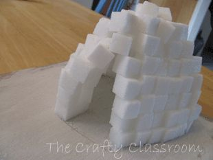 Eskimo clipart building igloo Cubes sensory Best on to