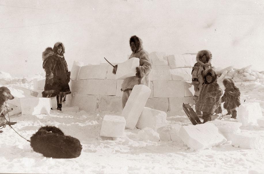 Eskimo clipart building igloo 1924 Family ☆ ☆ Eskimo
