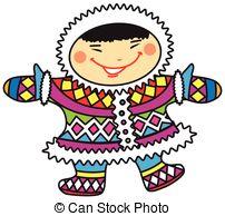 Eskimo clipart cartoon National Art Happy boy Search