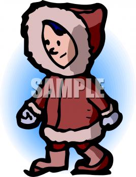 Coat clipart eskimo Clipart Cartoon Coat Eskimo Clipart