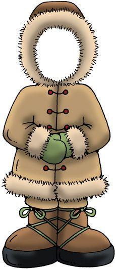 Coat clipart eskimo Eskimo for craft Find