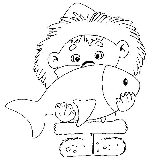Eskimo clipart coloring Images POOLGEBIEDEN: on * Eskimo