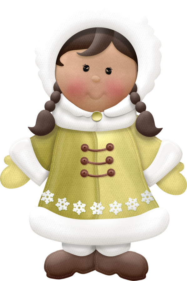 Eskimo clipart cute Jul CLIP Girls CLIP ART