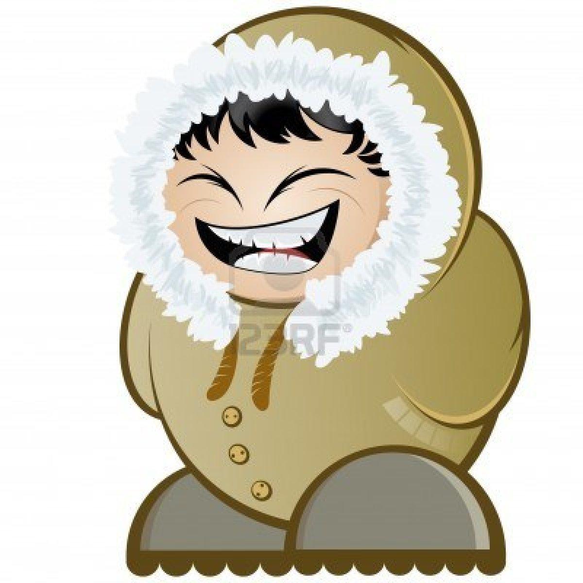 Eskimo clipart cute cartoon Funny via  eskimo image