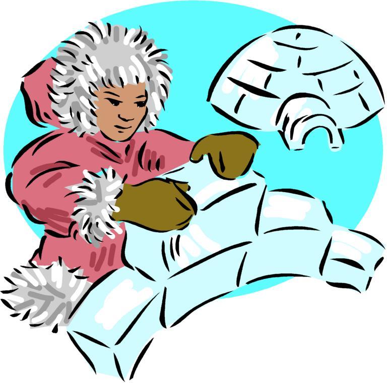 Eskimo clipart eskimo igloo Art clip Igloo Igloo clip