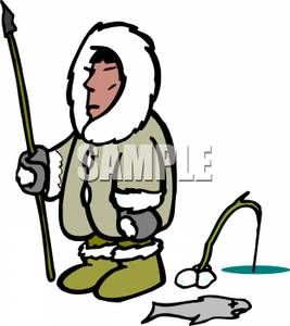 Spear clipart primitive Clipart Spear Fishing Spear Image: