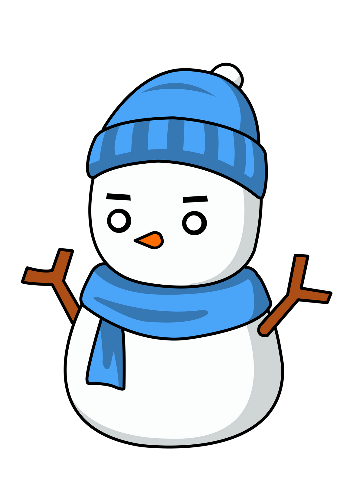 Blue clipart snowman Clipart Clipart snowman%20top%20hat%20clipart Top Clipart