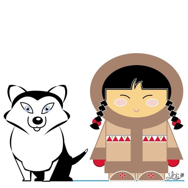 Eskimo clipart inuit 36 best inuit on Inuit