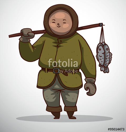 Eskimo clipart jacket A image of Eskimo Eskimo