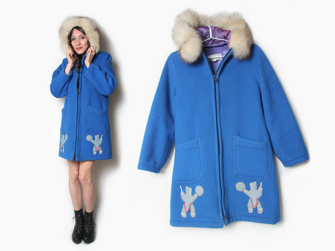 Eskimo clipart jacket Canadian Arctic Fox Hooded Inuit
