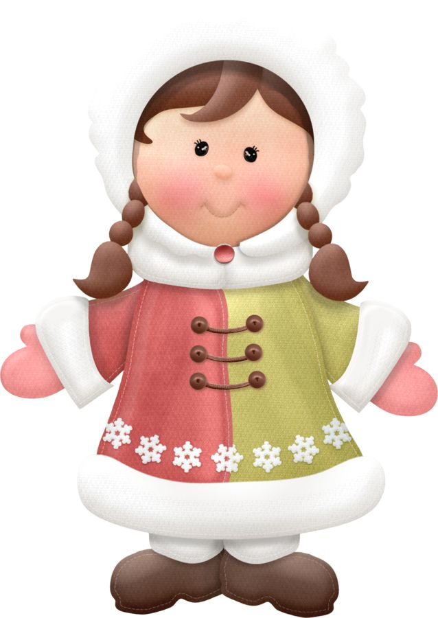 Eskimo clipart little WINTER clipart CLIP LITTLE on