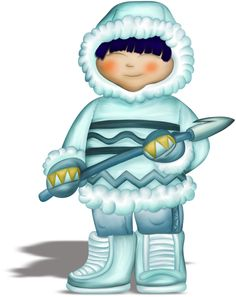 Eskimo clipart little Яндекс Pinterest Clip Фотки art