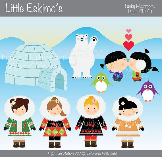 Eskimo clipart little Listing Hey images at 80