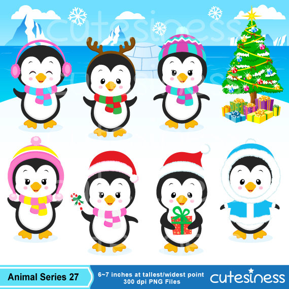 Chill clipart penguin Clipart Polar Penguin from winter
