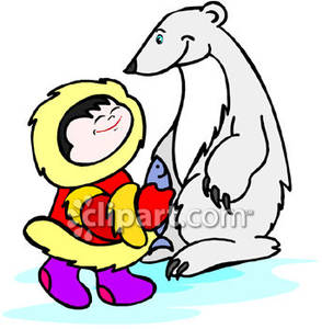 Eskimo clipart polar A Free Bear with Picture