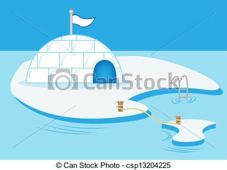 Eskimo clipart polar Snowy csp13204225 Snow polar house