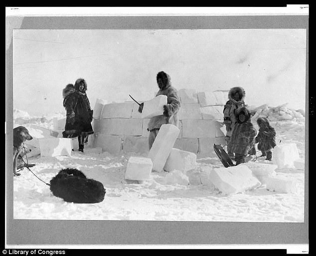 Eskimo clipart snow covered house Alaska's how of Inuit four