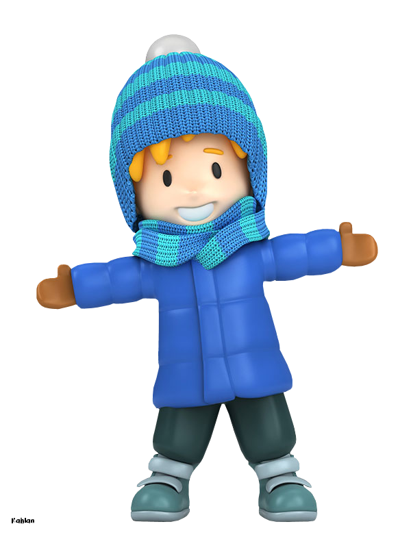Eskimo clipart winter kid WINTER WINTER CLIP CLIP LITTLE