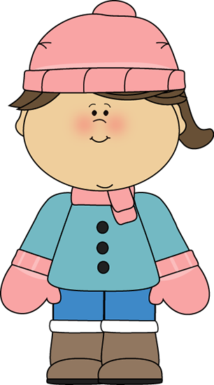 Eskimo clipart winter kid Girl Little Little Clip Winter