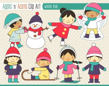 Eskimo clipart winter kid B Winter Art Winter outlines