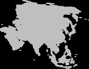 Continent clipart asia At Clip Art art Clker