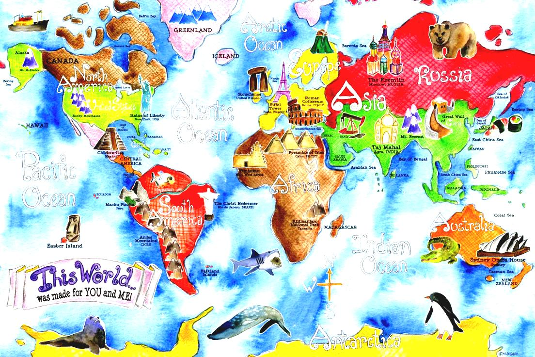 Geography clipart map Clip Rug Clipart Rug Childrens
