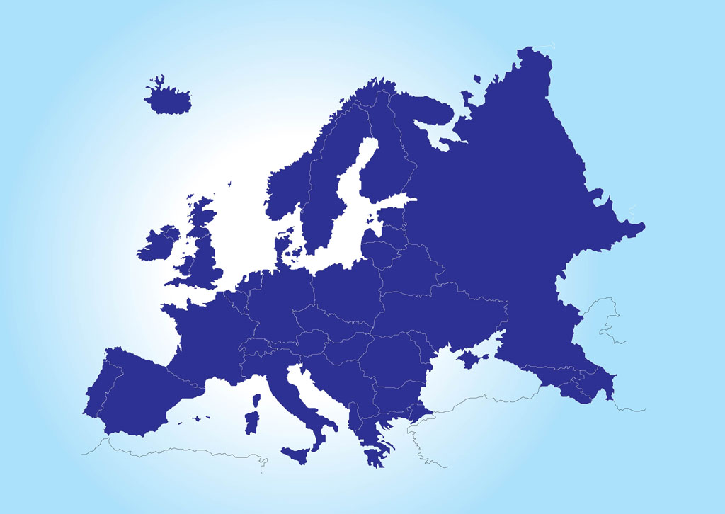 Continent clipart europe Of of Europe Clipart map