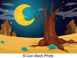 Evening clipart Moonlight 24 a art 347