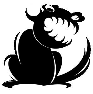 Evil clipart Evil Squirrel Download Art Clip